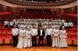 探班大型民族管弦乐《蒙古马》音乐会入场录制