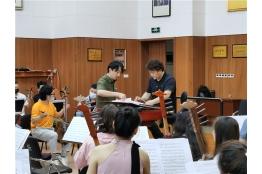 管乐声韵满琴房--民乐团2020年业务培训圆满收官